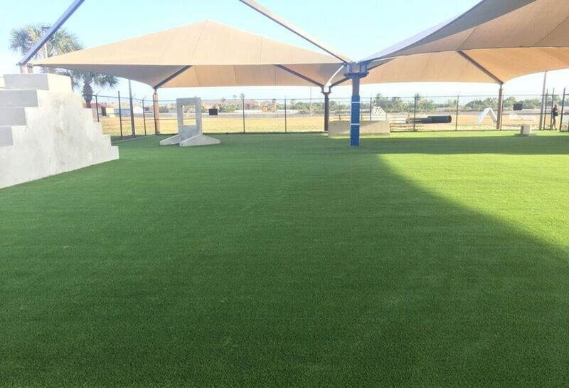 Patrick AFB artificial turf