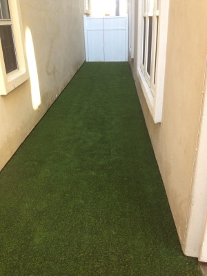 Rose artificial turf project