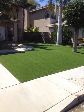 Unas grass installation project