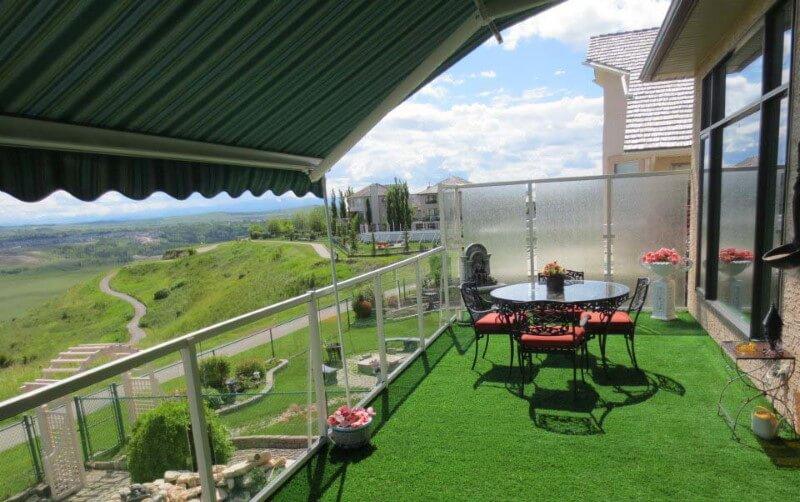 artficial grass patio