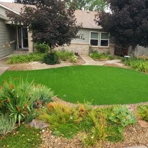 Artificial Grass Front Yard Denver