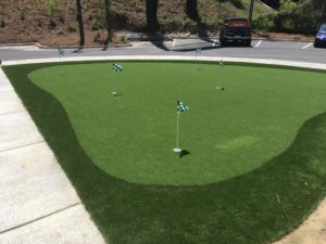 Mini Golf Course using ProGreen artificial grass