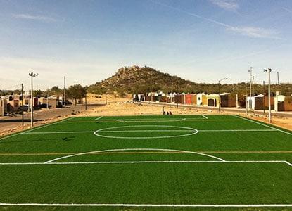 ProGreen artificial sports field turf