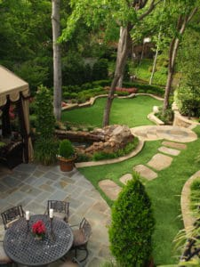 ProGreen Artificial Lawn Backyard