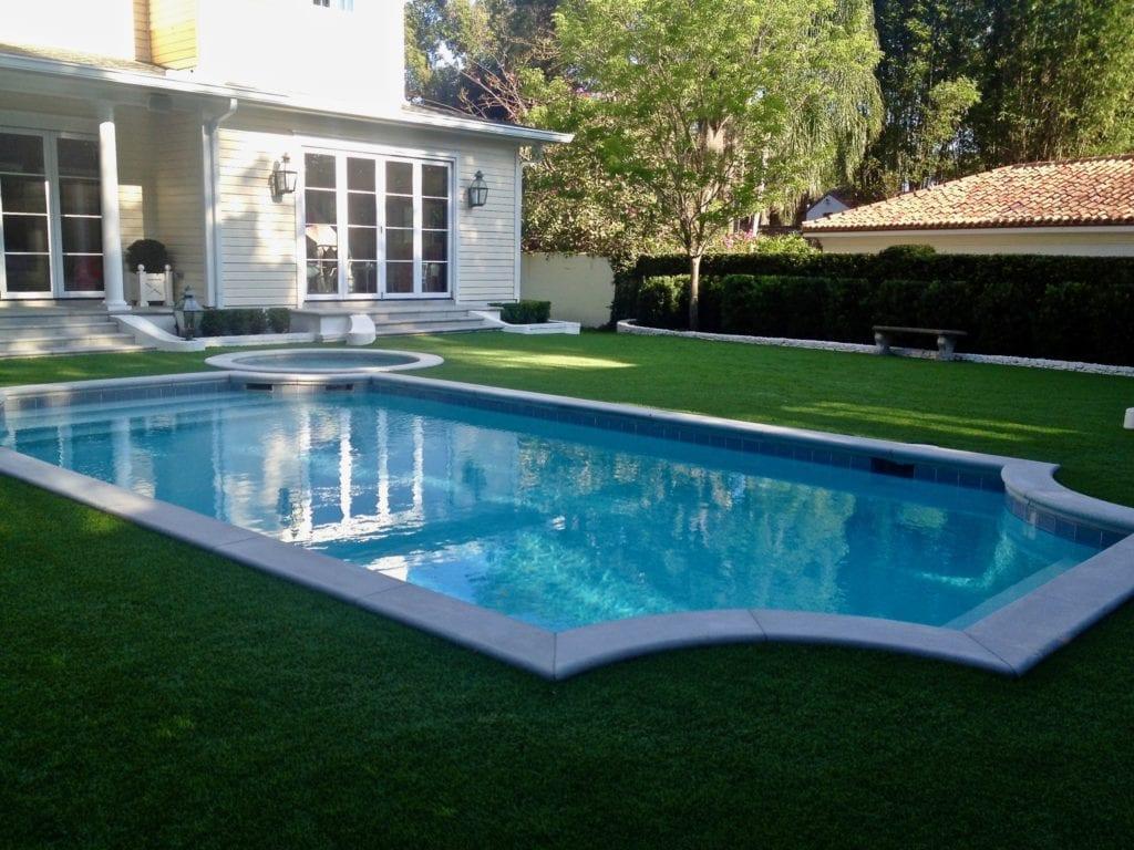 artificial grass pool surround in orlando fl