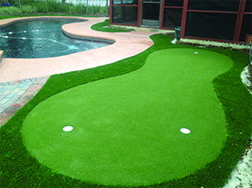 putting green by pool winter park, fl