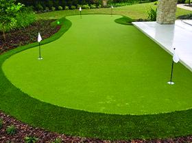 custom backyard putting green orlando fl