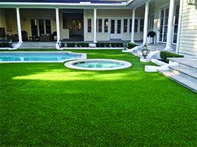 artificial turf around pool oviedo, fl