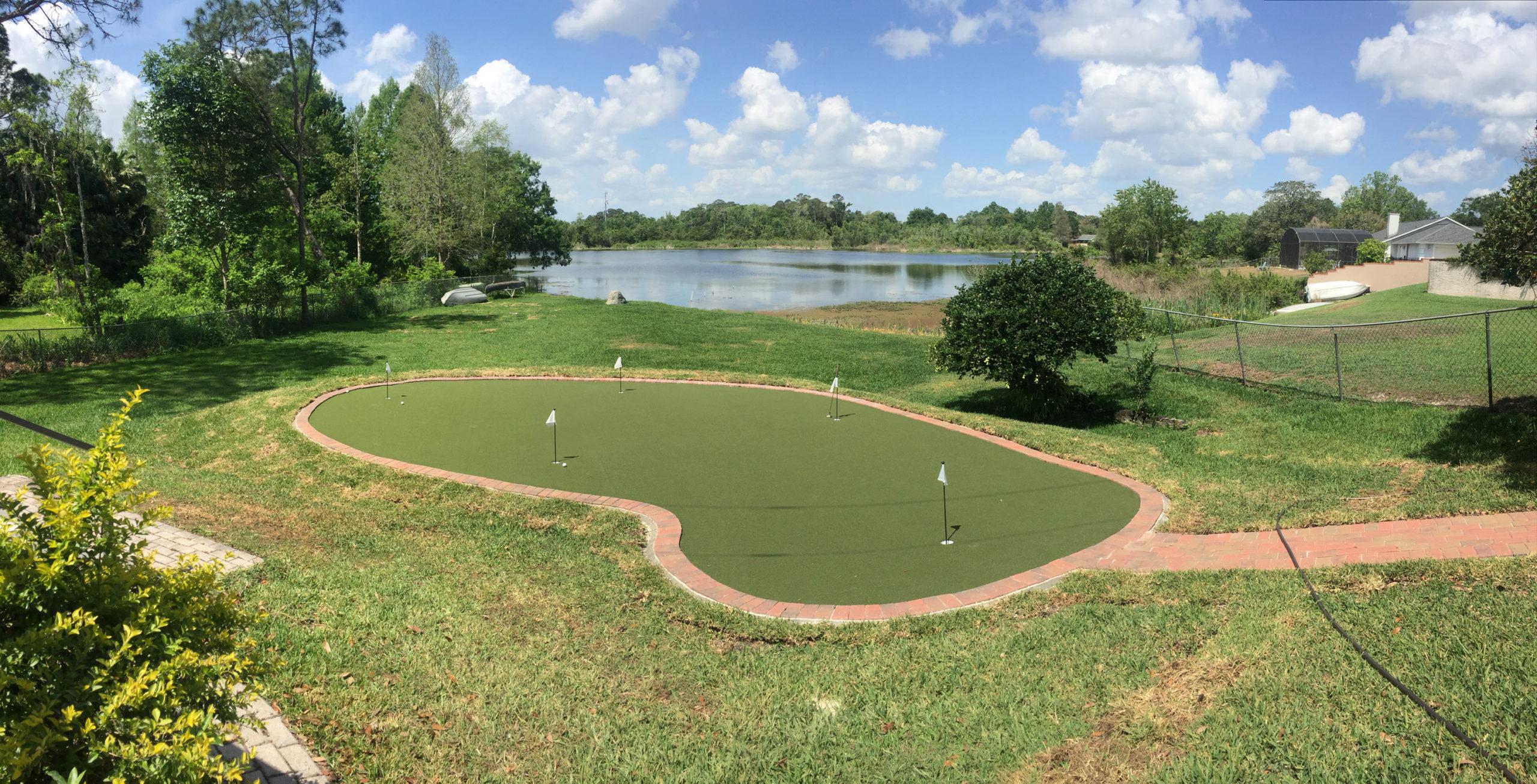 water side golf green in orlando fl