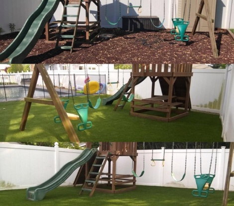 Playground Synthetic Turf Long Island