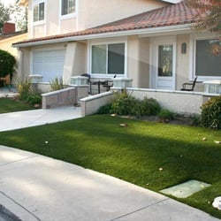 Turf front yard